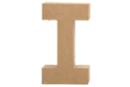Lettre en carton papier mâché : I - Lettres et Formes 27708 - 10doigts.fr
