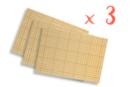 Cartes fortes double-face adhésives - 20 x 30 cm - Lot de 9 cartes - Feuilles en plastique 16468 - 10doigts.fr