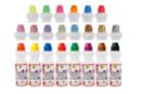 Marqueurs à encre, couleurs classiques, fluo et nacrées  - Set de 22 - Encres 11698 - 10doigts.fr