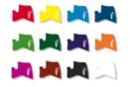 Marqueurs à laque - Set de 12 couleurs assorties - Marqueurs peintures 02988 - 10doigts.fr