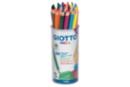Maxi crayons de couleur GIOTTO Méga -  24 crayons - Crayons de couleurs 04432 - 10doigts.fr