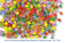 Mosaïques en caoutchouc souple adhésif - 1000 pièces - Mosaïques adhésives - 10doigts.fr