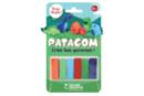 Pains de Patagom couleurs Dinosaures - 6 couleurs - Patagom 44107 - 10doigts.fr