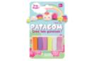 Pains de Patagom couleurs Licorne - 6 couleurs - Patagom 44104 - 10doigts.fr