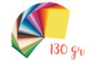 Papiers légers 130 gr/m² 25 x 35 cm - Packs 50 couleurs - Papiers couleurs 18183 - 10doigts.fr