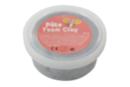 Pâte à modeler Foam Clay argent - Pot de 38,5 gr - Pâtes à jouer 15292 - 10doigts.fr