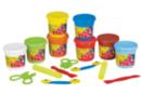 Maxi kit de modelage (dès 2 ans) - Pâtes à modeler + accessoires - Pâtes à modeler souples 1er âge bébé - 10doigts.fr