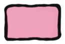 Peinture repositionnable Rose clair - Flacon 80 ml - Peinture Verre et Faïence 10978 - 10doigts.fr