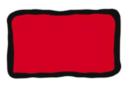 Peinture repositionnable Rouge - Flacon 80 ml - Peinture Verre et Faïence 10979 - 10doigts.fr