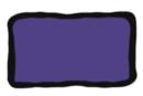 Peinture repositionnable Violet - Flacon 80 ml - Peinture Verre et Faïence 10985 - 10doigts.fr