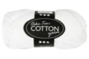 Pelote extra qualité 100% coton  - blanc - Laine 44270 - 10doigts.fr