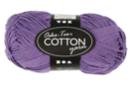 Pelote extra qualité 100% coton - lilas - Laine 44280 - 10doigts.fr