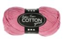 Pelote extra qualité 100% coton - rose clair - Laine 44276 - 10doigts.fr