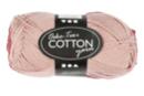 Pelote extra qualité 100% coton - rose pastel - Laine 44279 - 10doigts.fr