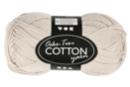 Pelote extra qualité 100% coton  - Sable - Laine 44271 - 10doigts.fr