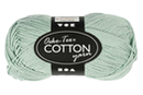 Pelote extra qualité 100% coton - vert clair - Laine 44285 - 10doigts.fr