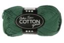 Pelote extra qualité 100% coton - vert foncé - Laine 44286 - 10doigts.fr