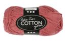 Pelote extra qualité 100% coton - vieux rose - Laine 44278 - 10doigts.fr