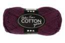 Pelote extra qualité 100% coton - violet - Laine 44281 - 10doigts.fr