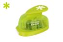 Perforatrice à levier flocon de neige S - Taille découpe : 1.6 cm - Perforatrices fantaisies 07244 - 10doigts.fr