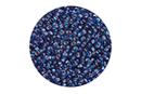 Perles de rocaille lumineuses 150 gr - Bleu foncé - Perles de rocaille 11159 - 10doigts.fr