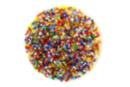 Perles de rocaille lumineuses, couleurs assorties - 9000 perles - Perles de rocaille 11169 - 10doigts.fr