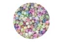 Perles de rocaille nacrées, couleurs assorties - 9000 perles - Perles de rocaille 11186 - 10doigts.fr