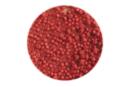 Perles de rocaille opaques 150 gr - Rouge - Perles de rocaille 11173 - 10doigts.fr