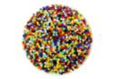 Perles de rocaille opaques, couleurs assorties - 9000 perles - Perles de rocaille 11181 - 10doigts.fr