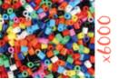 Perles fusibles opaques - 6000 perles  - Perles Fusibles 5 mm 15262 - 10doigts.fr