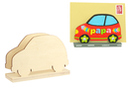 Porte-courrier voiture en bois naturel - Range-courriers 38036 - 10doigts.fr