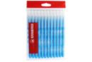 Recharge schoolpack STABILO power Bleu Clair - x 12 feutres  - Feutres pointes moyennes 37052 - 10doigts.fr