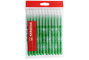 Recharge schoolpack STABILO power Vert - x 12 feutres  - Feutres pointes moyennes 37056 - 10doigts.fr