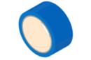 Rouleau de ruban adhésif 33 mètres - bleu - Adhésifs colorés et Masking tape 11092 - 10doigts.fr