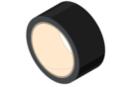 Rouleau de ruban adhésif 33 mètres - noir - Adhésifs colorés et Masking tape 11095 - 10doigts.fr