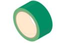 Rouleau de ruban adhésif 33 mètres - vert - Adhésifs colorés et Masking tape 11094 - 10doigts.fr