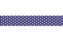 Ruban adhésif fantaisie : Bleu marine + pois blancs - Rubans et adhésifs 27917 - 10doigts.fr