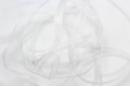Ruban organza blanc 4,5 m (largeur 7 mm) - Rubans et ficelles 09534 - 10doigts.fr