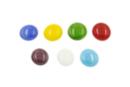 Galets en verre couleurs brillantes - Sachet de 1 kg (200 galets) - Mosaïques verre 31153 - 10doigts.fr