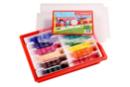 Schoolpack 144 feutres de coloriage STABILO power - Feutres pointes moyennes 37051 - 10doigts.fr