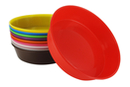Coupelles en plastique, couleurs assorties  - 10 coupelles - Palettes et rangements - 10doigts.fr