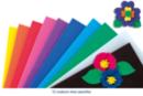 Caoutchouc mousse 20 x 30 cm, 10 feuilles couleurs vives - Papier Mousse - 10doigts.fr