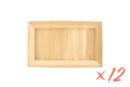 Cadre en bois rectangle - Lot de 12 - Cadres photos en bois 05879 - 10doigts.fr