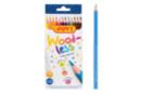 Crayons de couleur sans bois - Boite de 12 crayons - Crayons de couleurs 35051 - 10doigts.fr