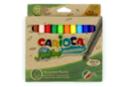 Set de 12 feutres Carioca ECO FAMILY - grosses pointes - Feutres pointes larges 44506 - 10doigts.fr