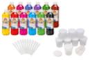 Encre à dessiner: 12 flacons de 500 ml + CADEAUX de 12 pots et 12 pipettes - Encres liquides 35090 - 10doigts.fr