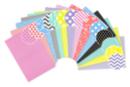 Papiers motifs géométriques - 14 feuilles format A4 - Papiers motifs géométriques - 10doigts.fr