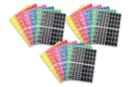 Gommettes rectangles : 18 planches (1728 gommettes) - Toutes les gommettes géométriques 01746 - 10doigts.fr