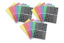 Gommettes rondes : 18 planches (1944 gommettes) - Toutes les gommettes géométriques 01743 - 10doigts.fr