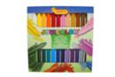 Maxi crayons cire ultra résistants - 24 crayons - Crayons cire 35048 - 10doigts.fr